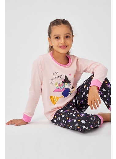 Penti Kız Çocuk Wıtchıcorn 2Li Pijama Takımı Renkli